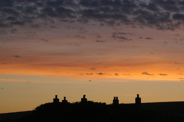 File:Midsummer sunset over Baltasound - geograph.org.uk - 1374596.jpg