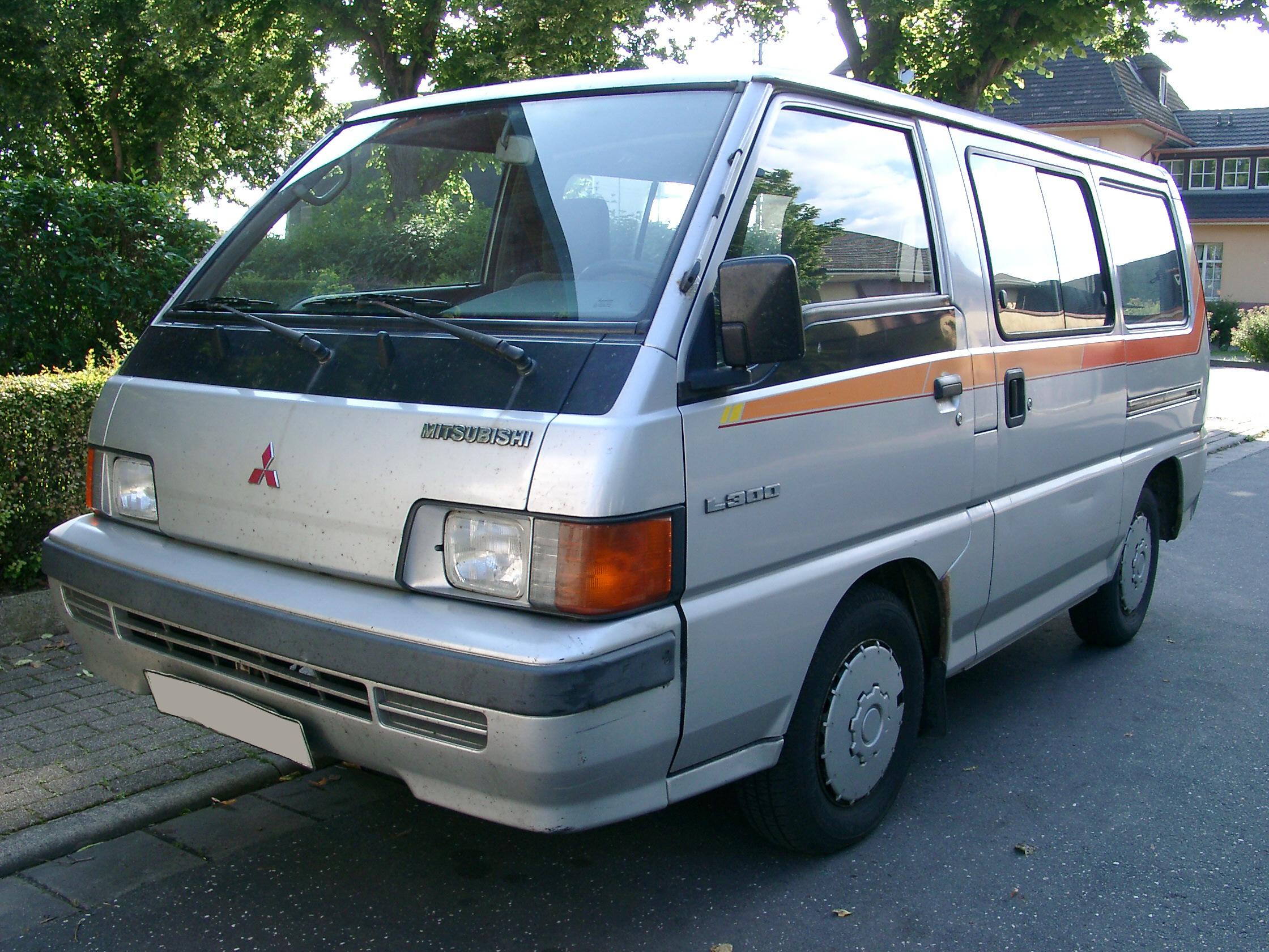 Fichier:Mitsubishi L300 Front 20070518.jpg