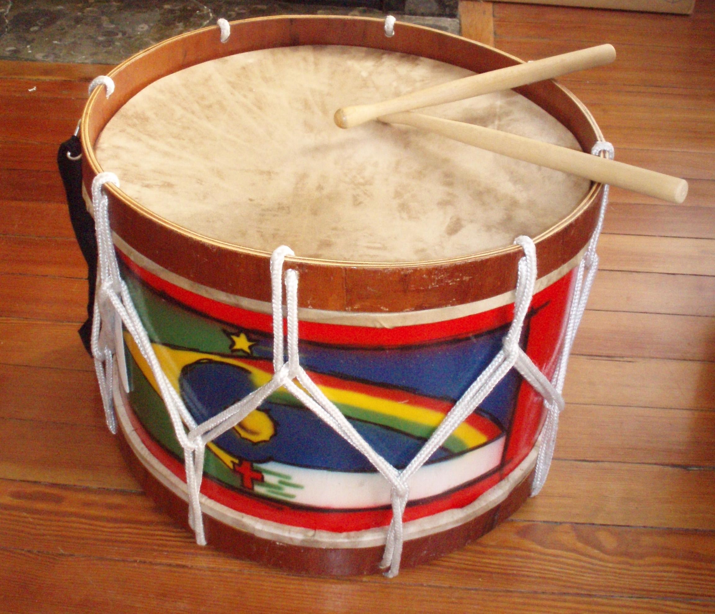 Зделать звуковой барабан своими руками