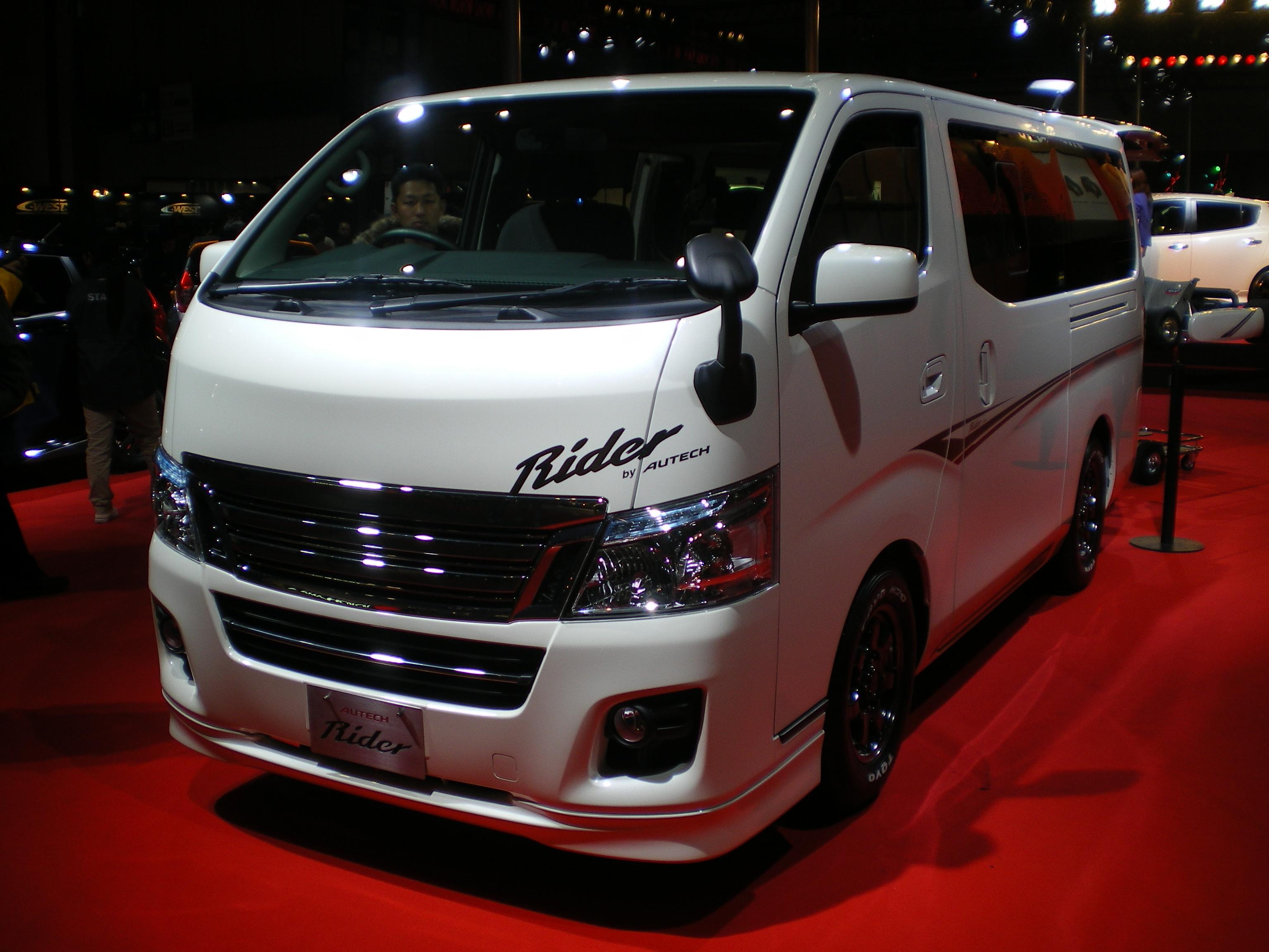 ファイル Nissan Nv350 Caravan Rider 01 Jpg Wikipedia