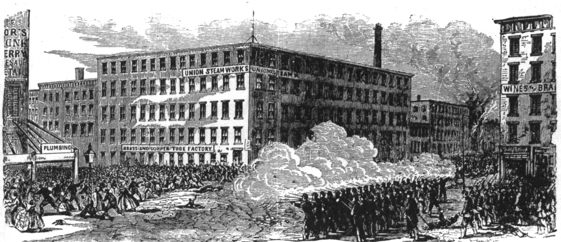 a history on the draft riots in new york city in 1863 New york city draft riots has been listed as one of the history historians on ethnic and minority history in in new york city, 1626-1863.