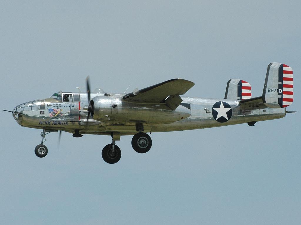 Обои North american, b-25, двухмоторный, американский, средний. Авиация foto 16