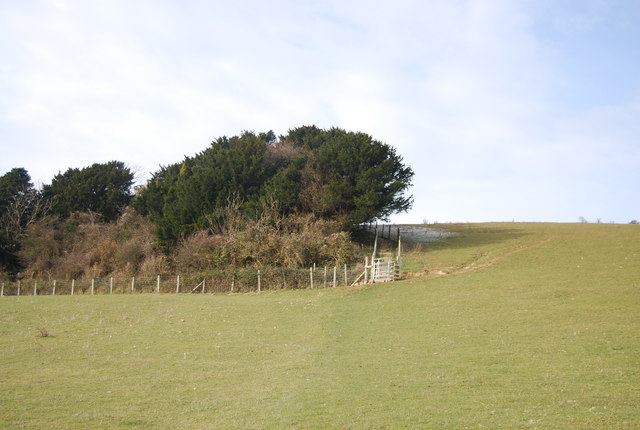 North Downs Way ascending the scarp slope - geograph.org.uk - 2270825