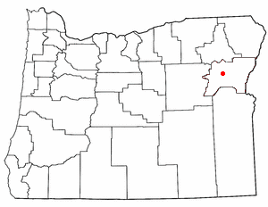 Loko di Baker City, Oregon
