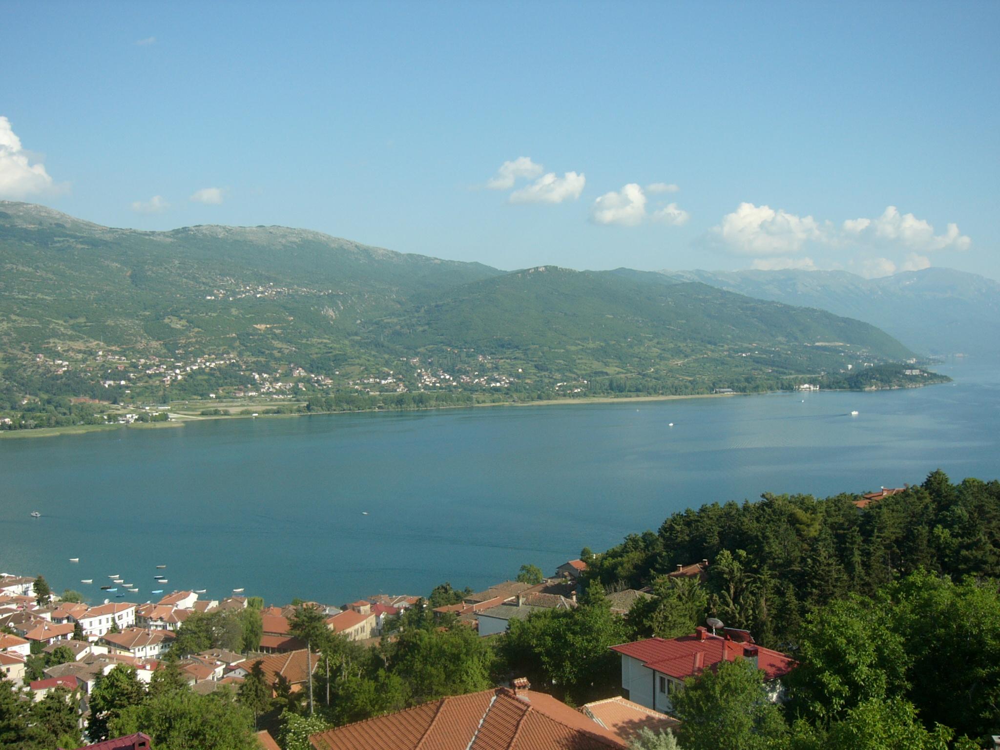 Galičica gebirge makedonien галичица