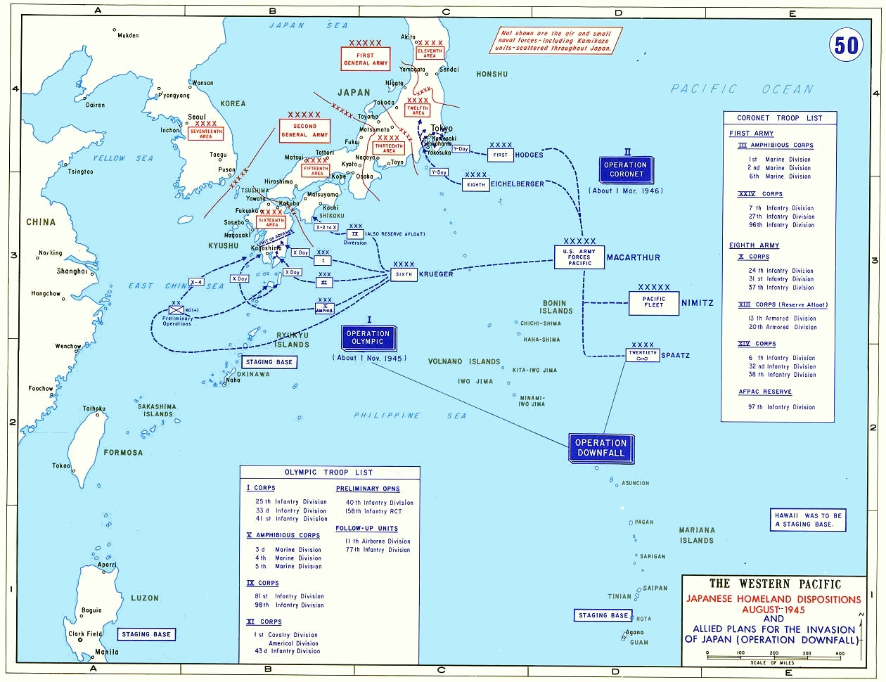 Operation Downfall - Wikipedia