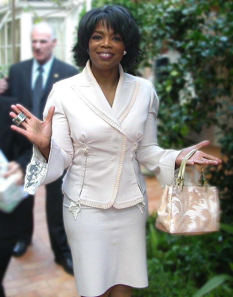 Oprah Winfrey, a successful person with an uncommon name.