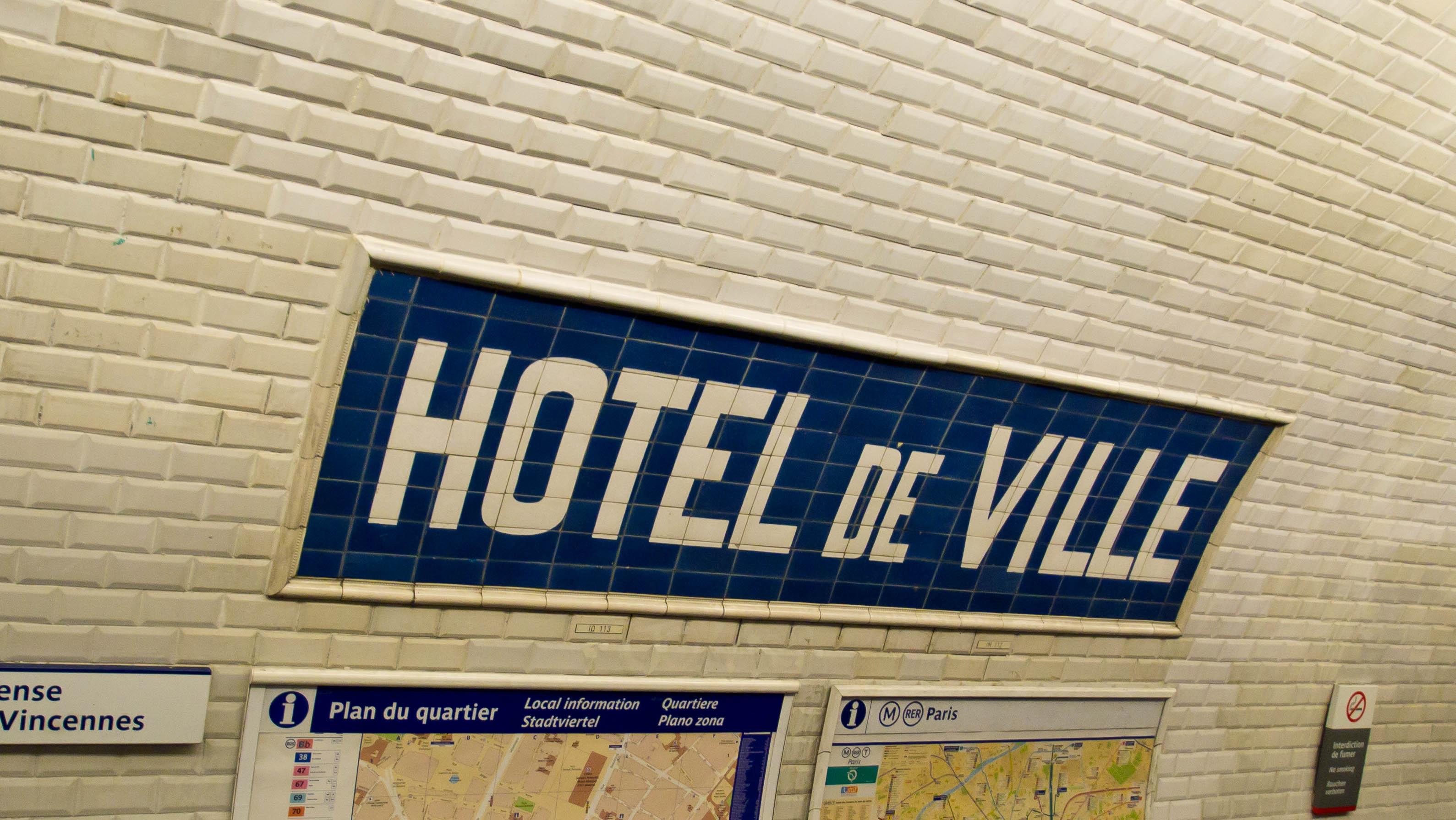 Metro Hotel De Ville Ligne
