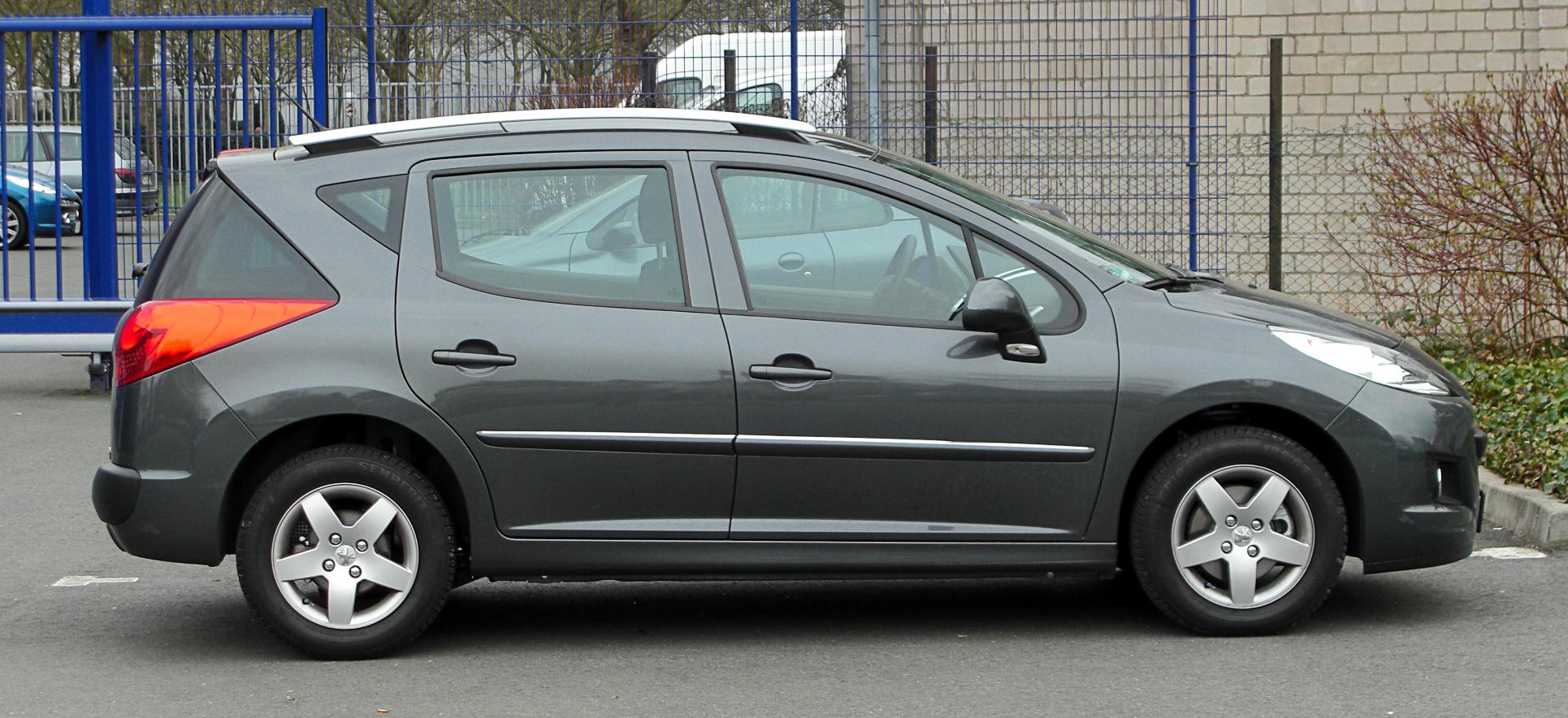 File Peugeot 207 Sw Facelift Seitenansicht 26 M 228 Rz 2011 Ratingen Jpg Wikimedia Commons