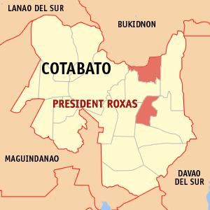 Depiction of Presidente Roxas