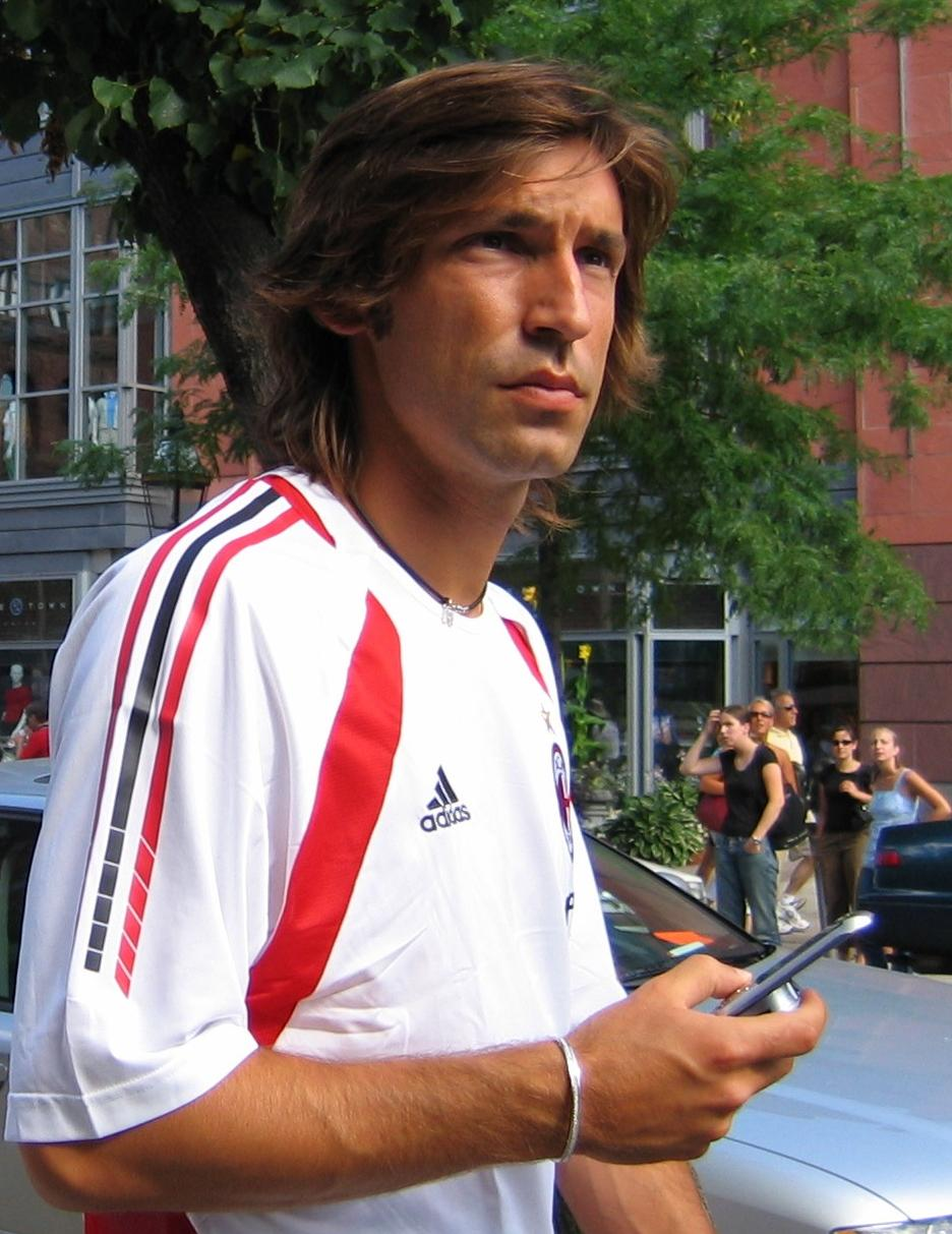 Andrea Pirlo Football Picture