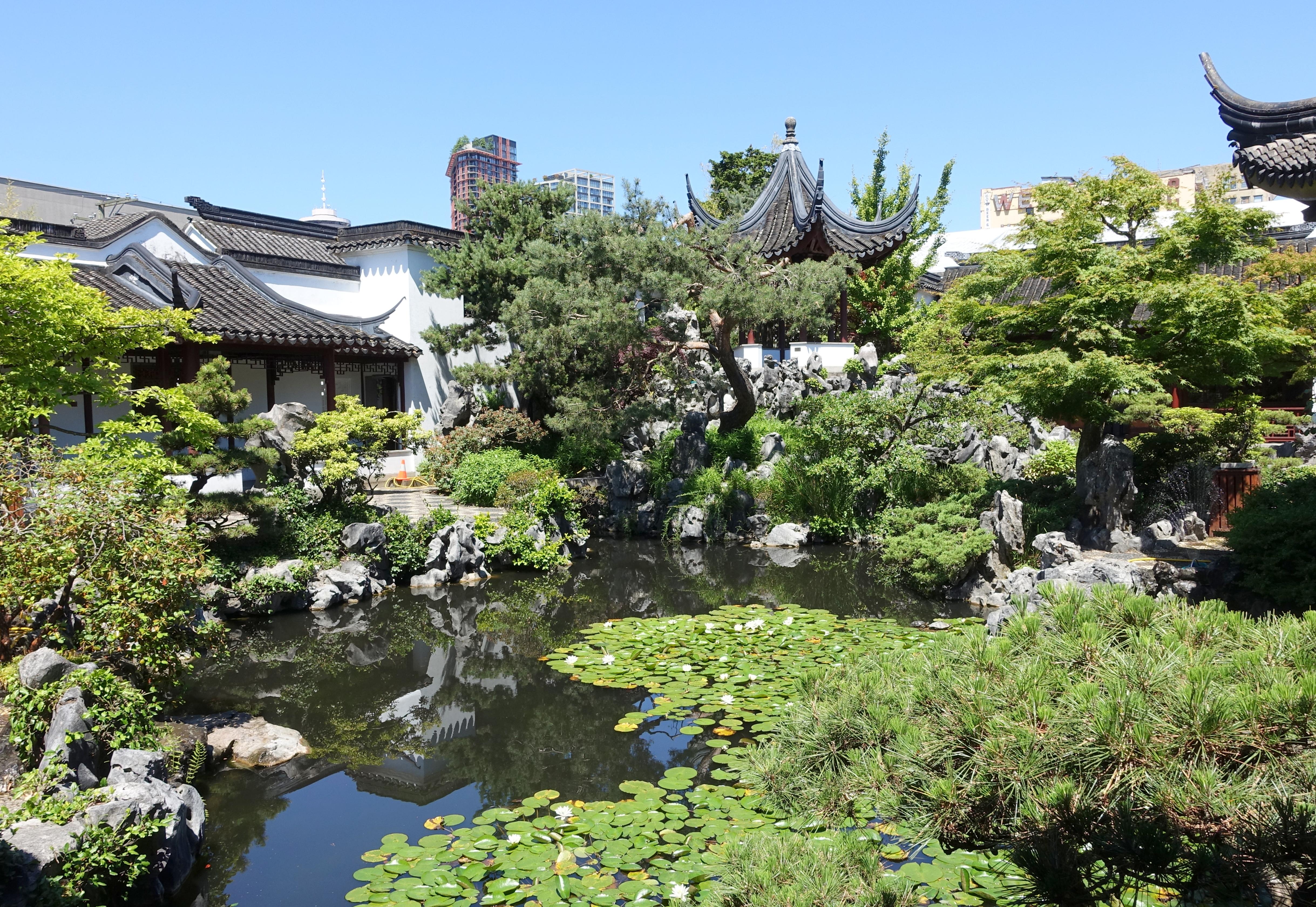 Pond - Dr. Sun Yat-Sen Classical Chinese Garden - Vancouver, Canada - DSC09838.JPG