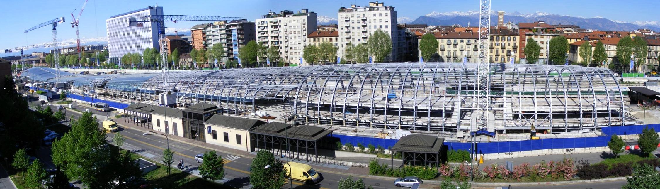 File porta susa in costruzione wikimedia commons - Porta susa stazione ...