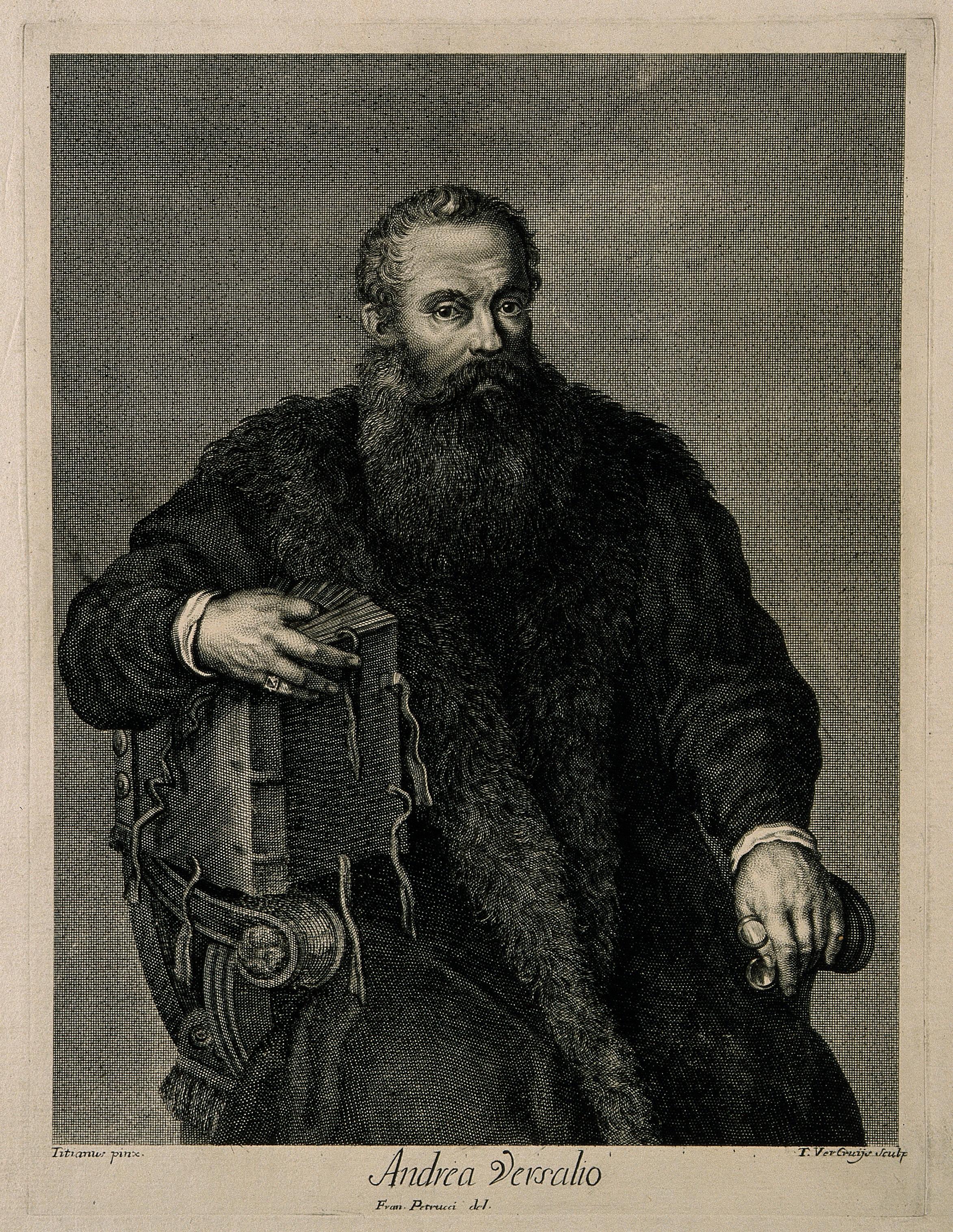 andreas vesalius Andreas vesalius (31 joulukuuta 1514, bryssel - 15 lokakuuta 1564, zákynthos) oli lääkäri ja tieteellisen anatomian uranuurtaja hän kirjoitti yhden anatomian historian vaikuttavimmista teoksista, de humani corporis fabrica libri septem (ihmisruumiin toiminnasta, 1537.