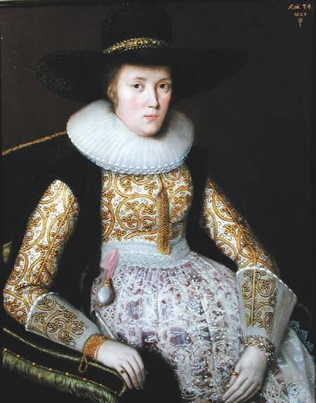 File:Robert Peake the Elder Unknown Lady 1623.jpg