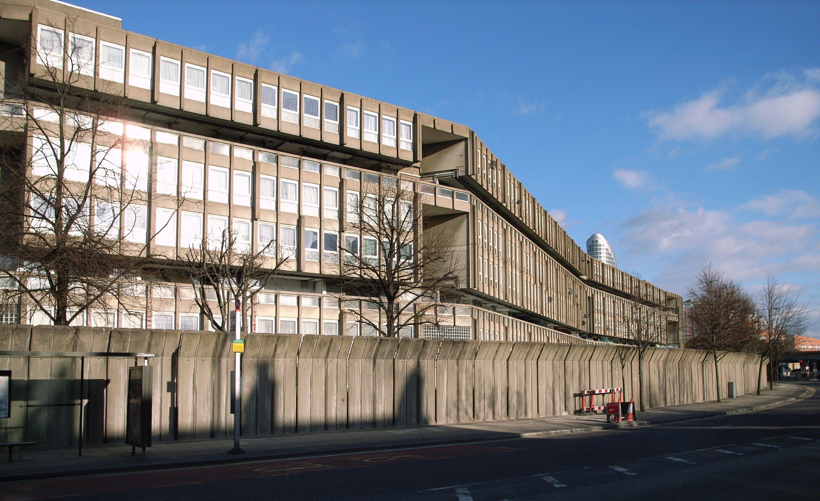 "Image result for Residential complex ""Robin hood gardens"", London, United Kingdom (1969-1972)"