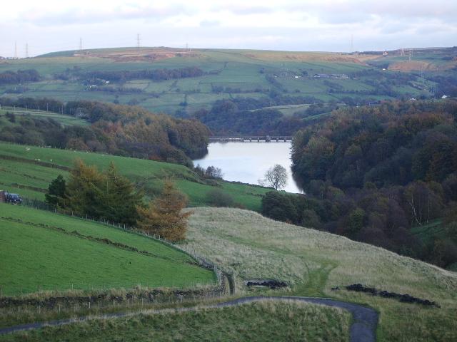 Ryburn Reservoir - geograph.org.uk - 1130626
