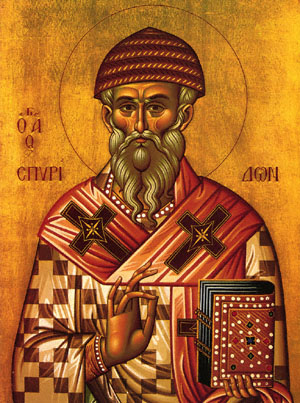 ST. SPYRIDON, Bishop of Trimythunta, Cyprus