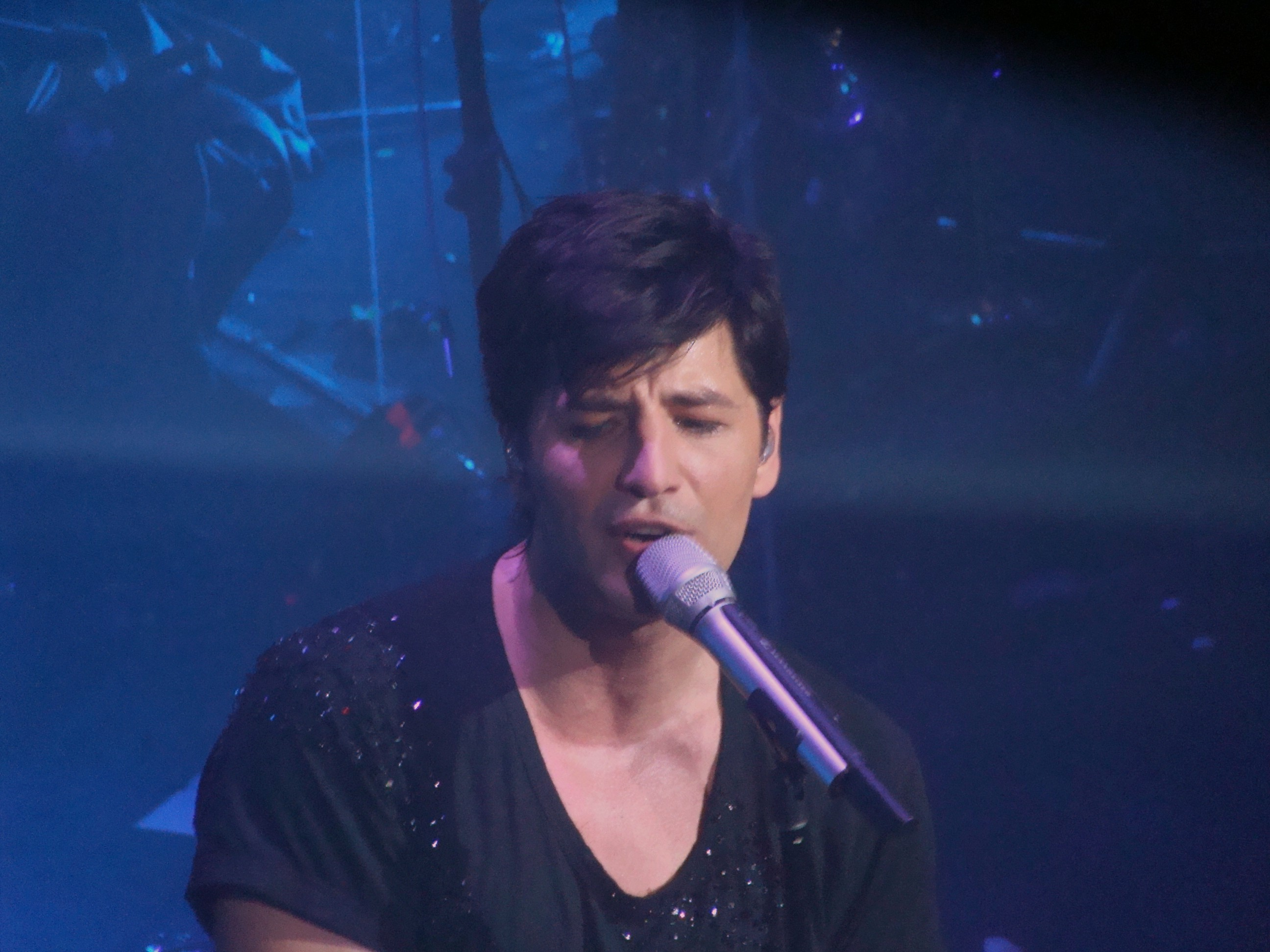 Sakis Rouvas couple