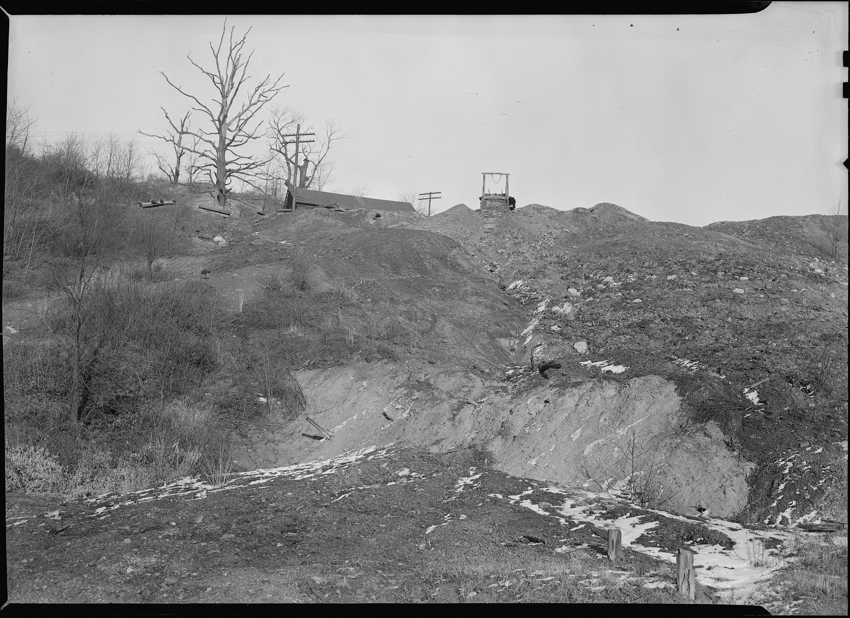 Coal mining manitoba highway