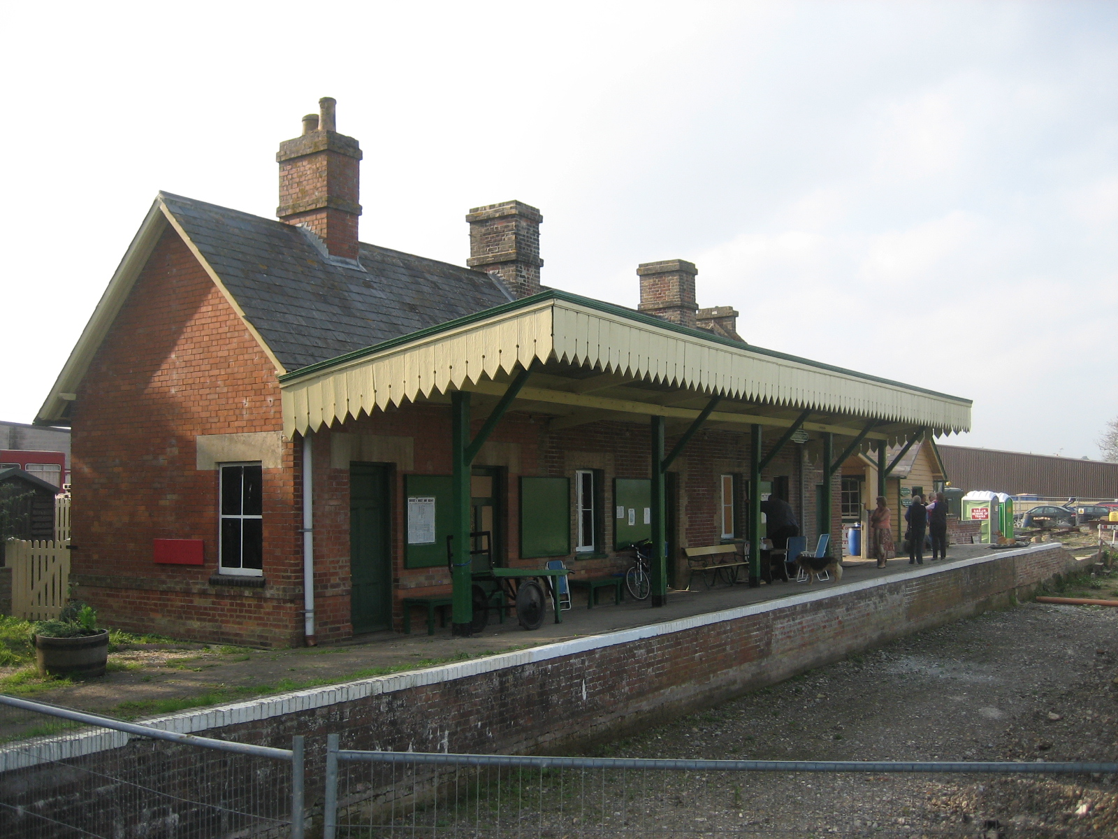 6 Blandford S/&DJR. Sturminster Newton Shillingstone Railway Station Photo