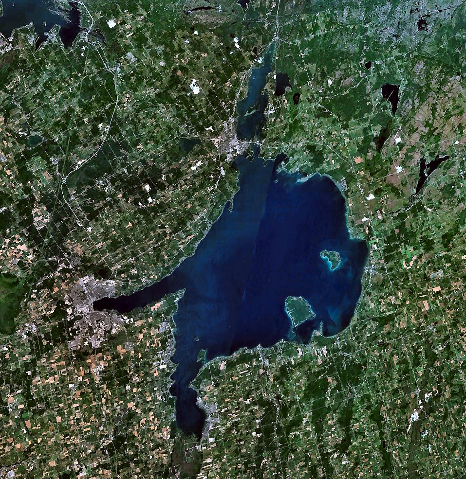 Lake Bottom und Lake Simcoe