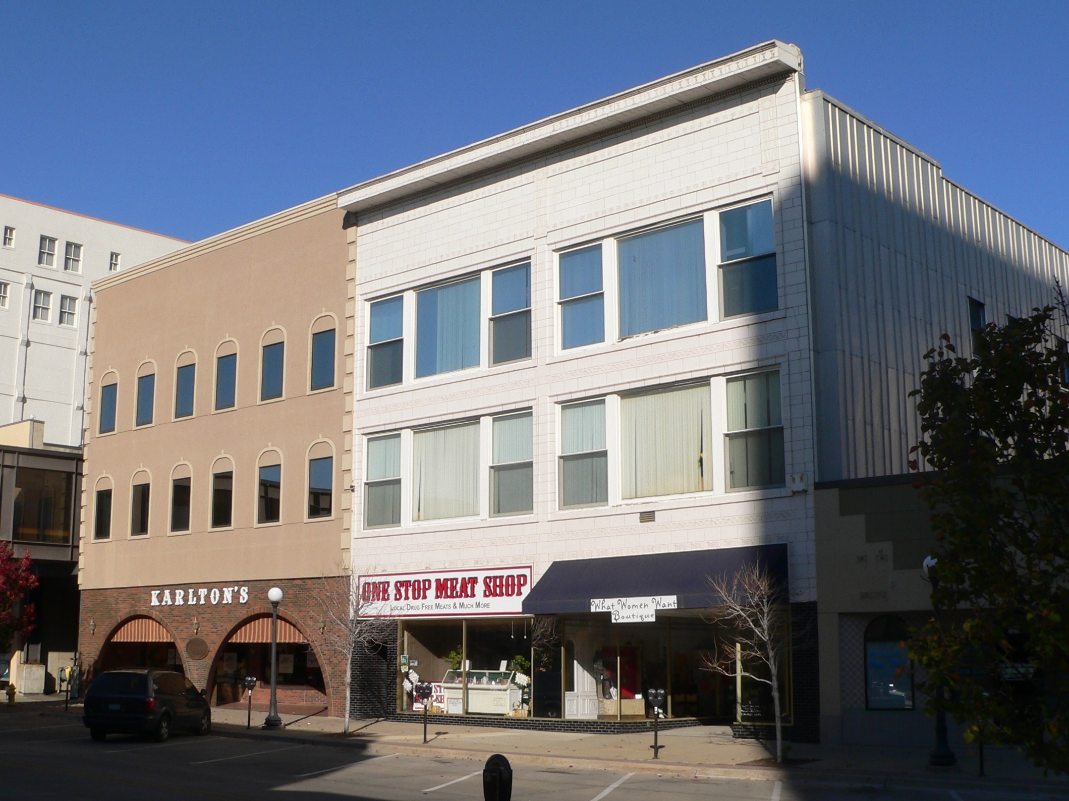 Sioux City (IA) United States  city photo : Sioux City, Iowa 515 519 521 4th St from SE 1 Wikimedia ...