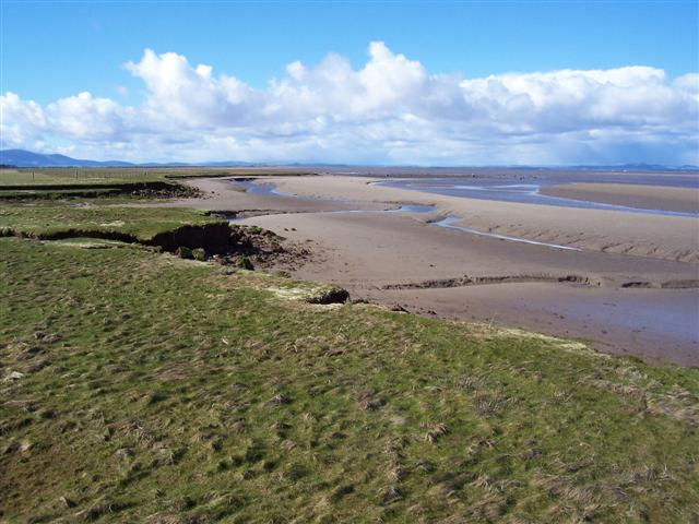 Skinburness Marsh and the river Waver Channel. - geograph.org.uk - 146181