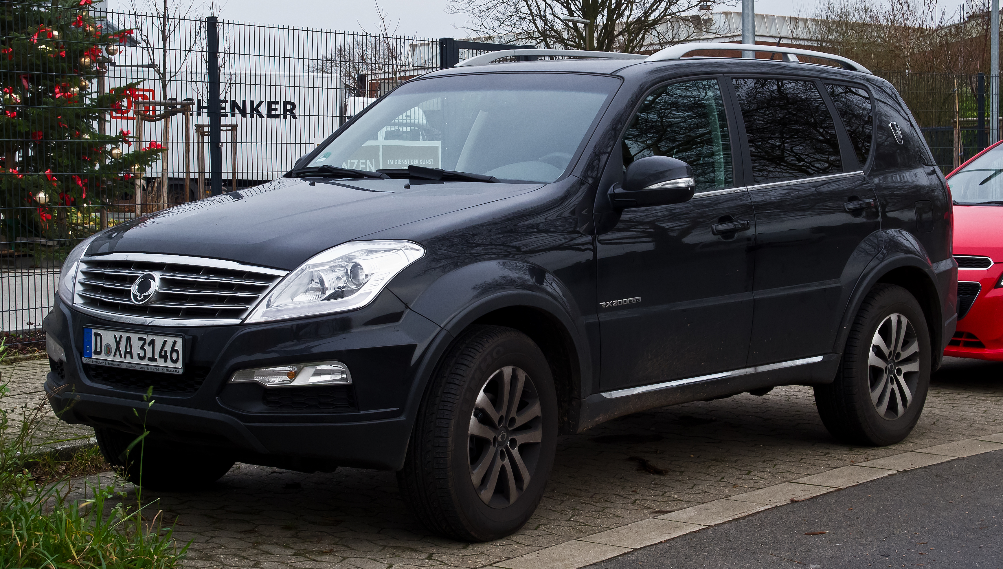 file ssangyong rexton w rx200e xdi quartz 2 facelift frontansicht 4 januar 2014. Black Bedroom Furniture Sets. Home Design Ideas