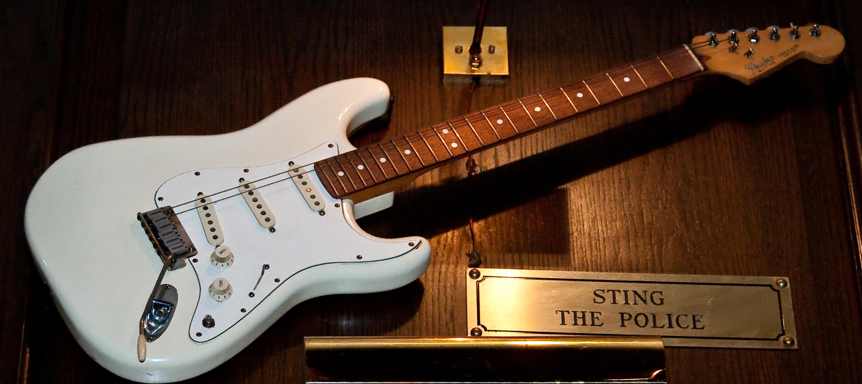 fender stratocaster guitar wallpaper
