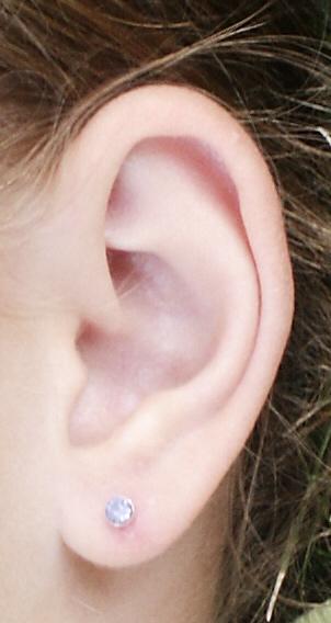 Ear Piercing Stud Or Ring