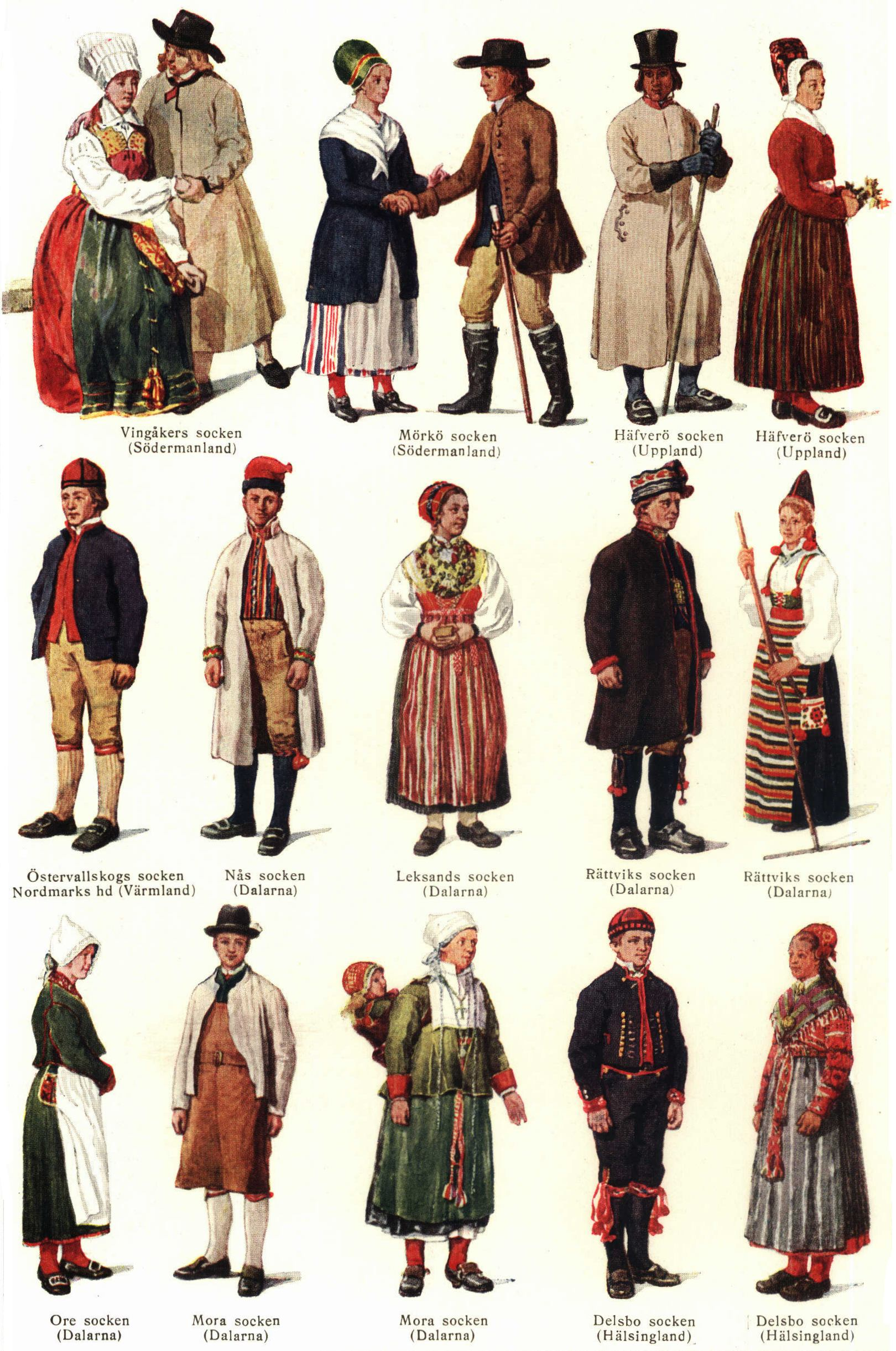 The Different Types Of Wine Infographic: Traditional Clothing Of Different Countries Around The