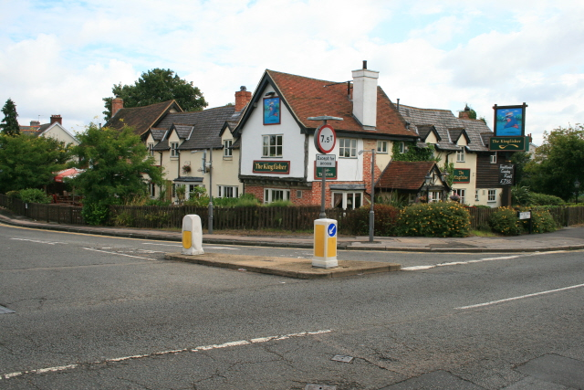 The Kingfisher - geograph.org.uk - 931240