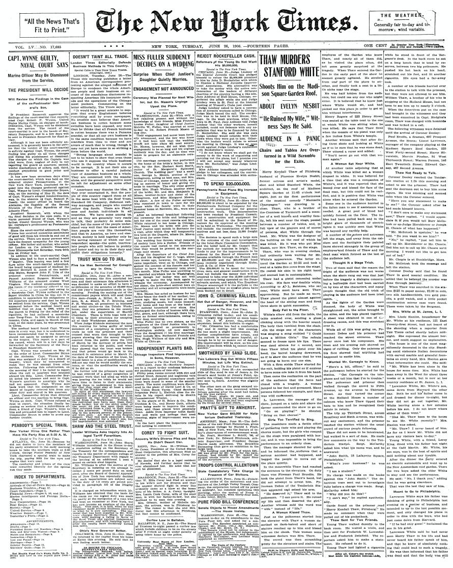 Francois Illas New Tradition: File:The New York Times, 26 June 1906.jpg