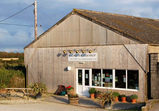 The Padstow Farm Shop at Trethillick - geograph.org.uk - 1467667