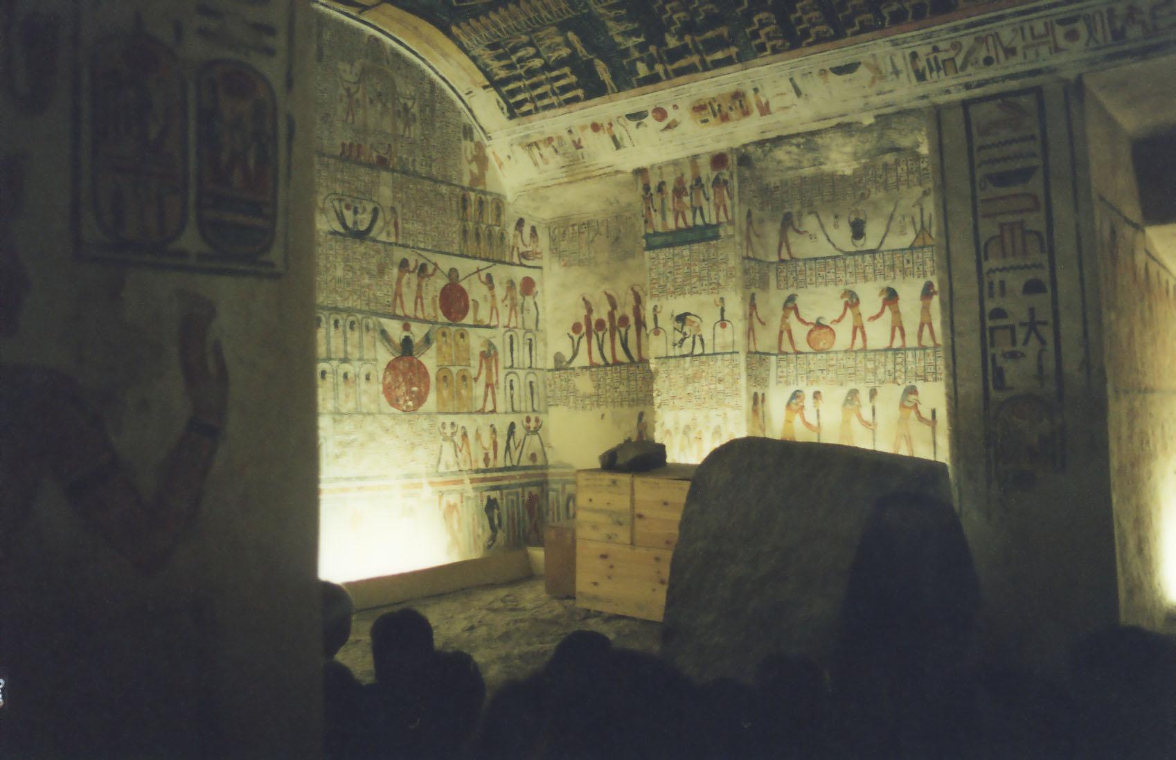 Depiction of KV9