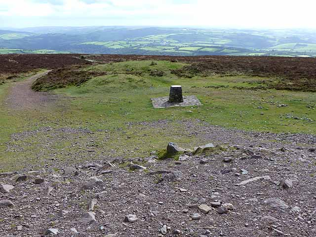 Toposcope on Dunkery Beacon (geograph 2611079)
