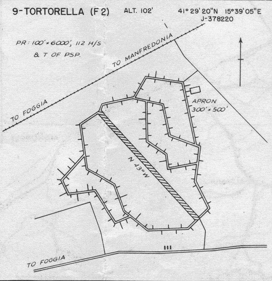 tortorella airfield