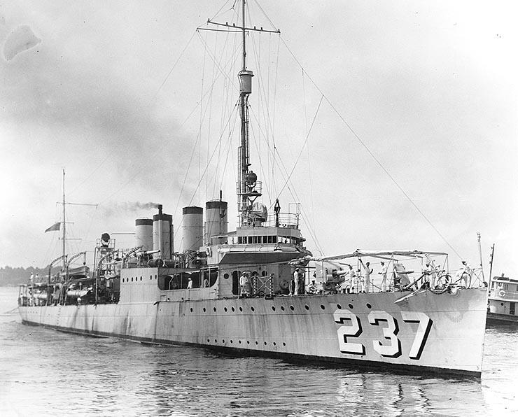 USS McFarland (DD-237)
