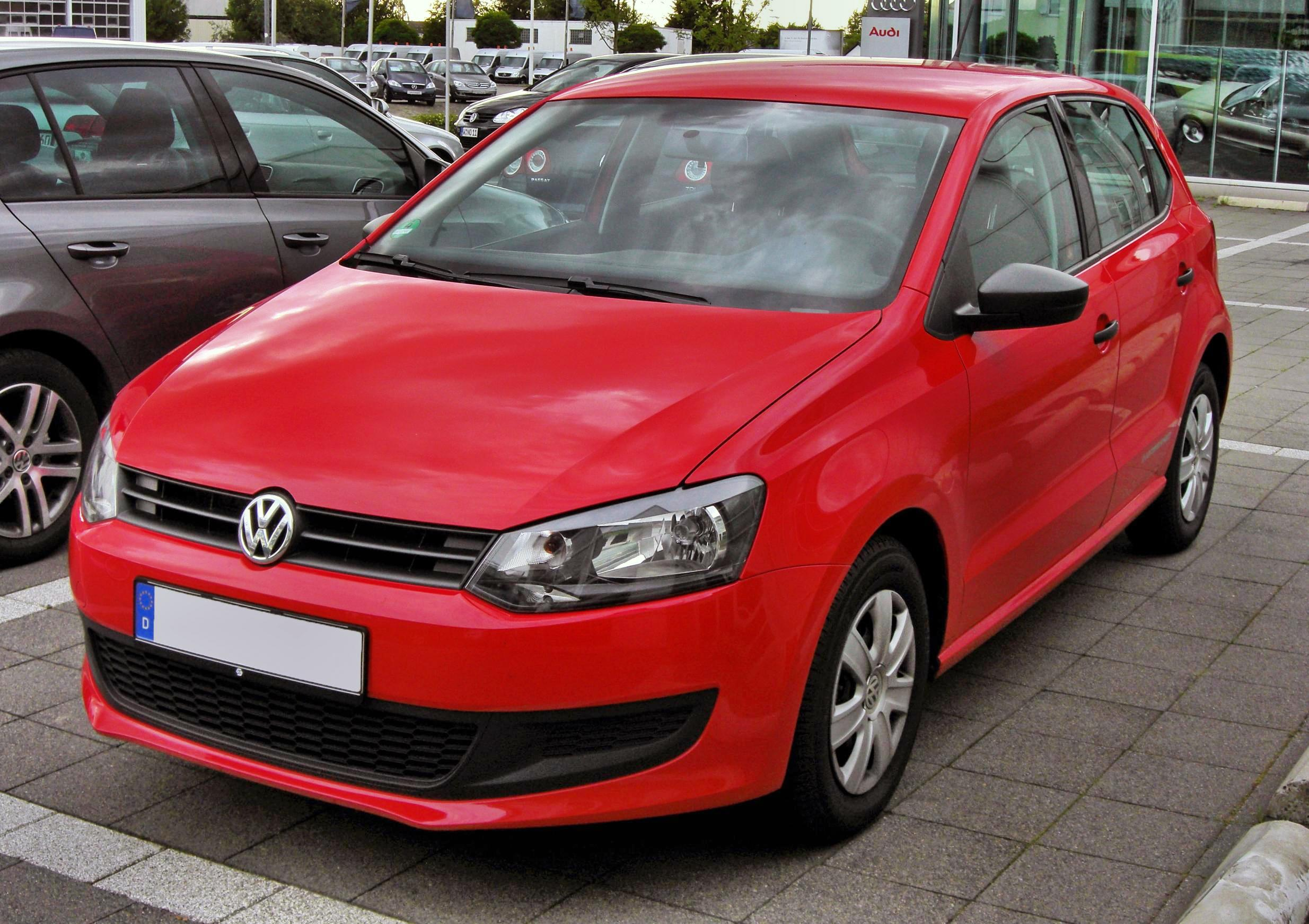 Description VW Polo V 20090717 front.JPG
