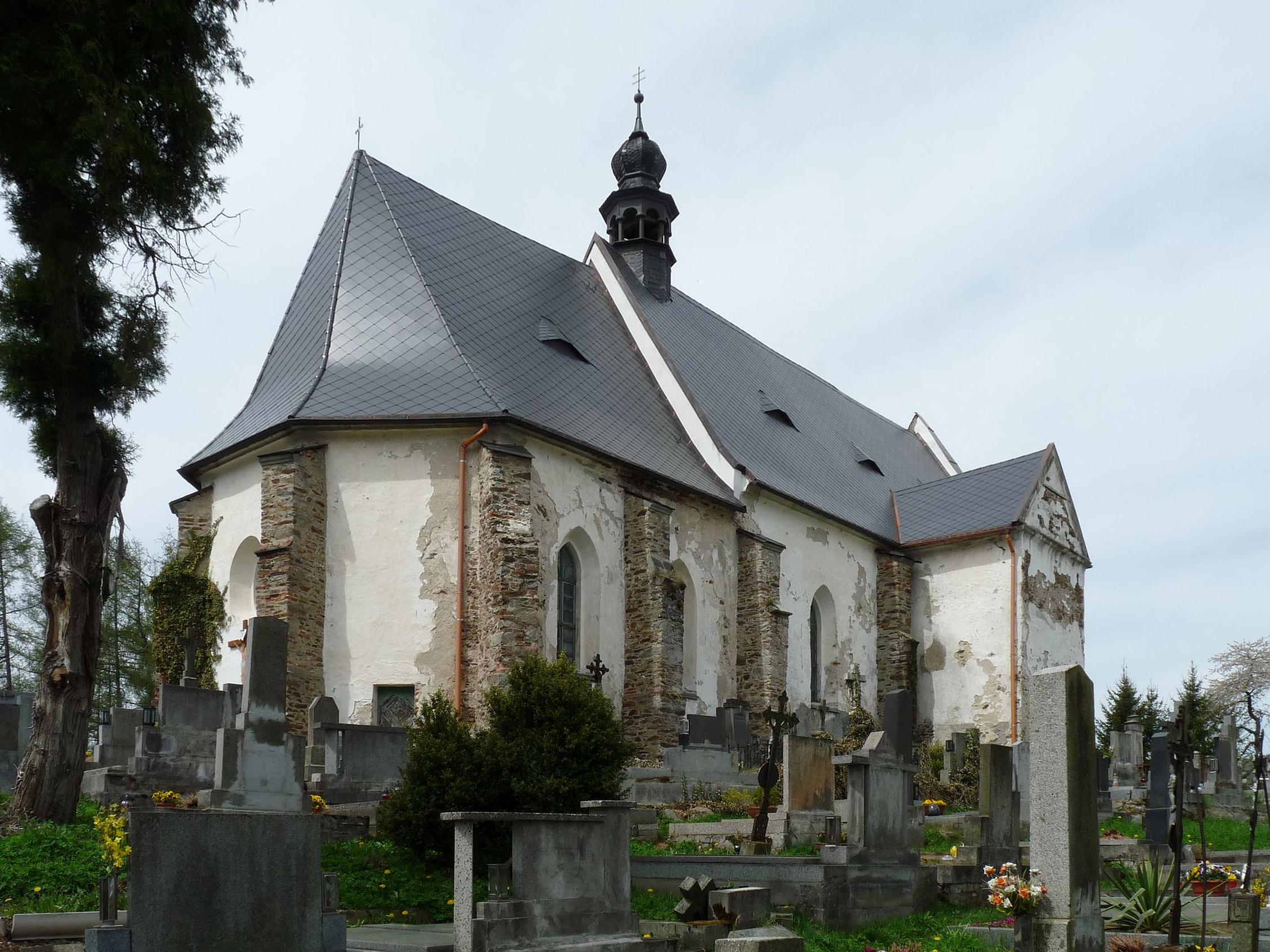 kostel sv. Maří Magdaleny ve Velharticích