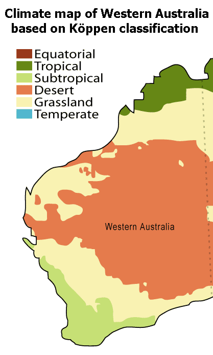 Australia Map Climate.File Western Australia Climate Map Png Wikimedia Commons