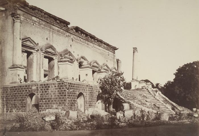 Begum Samru's Palace after 1857 rebellion