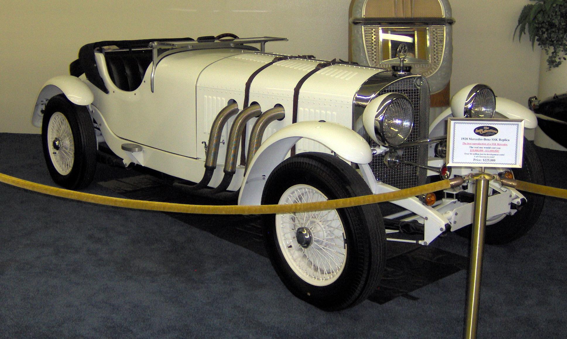 File 1928 Mercedes Benz Ssk Replica Jpg Wikimedia Commons