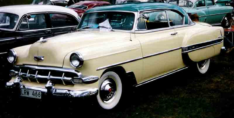 1954 Chevrolet Bel Air Classic Automobiles