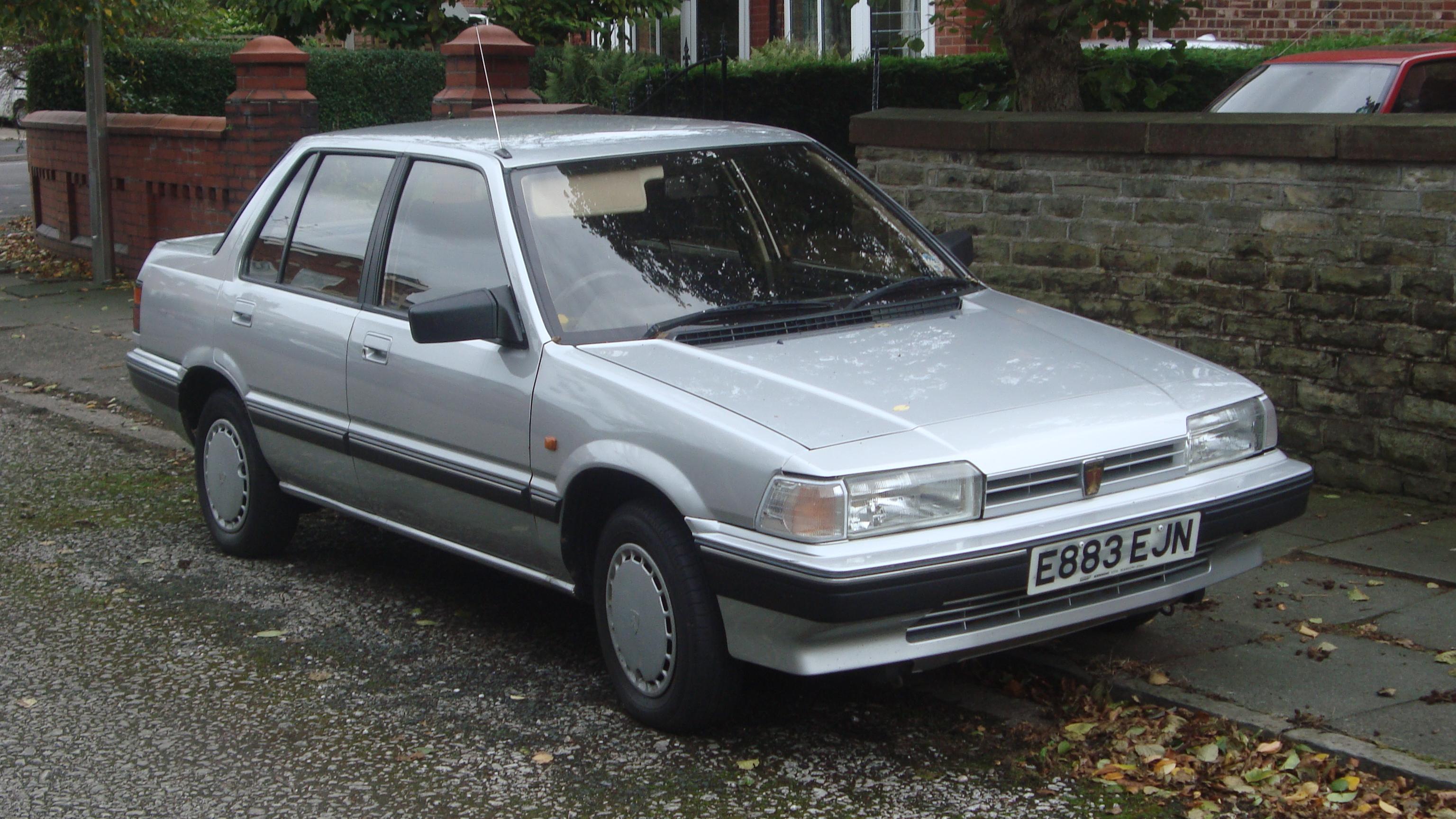 File 1988 Rover 213 S Auto Wikimedia mons