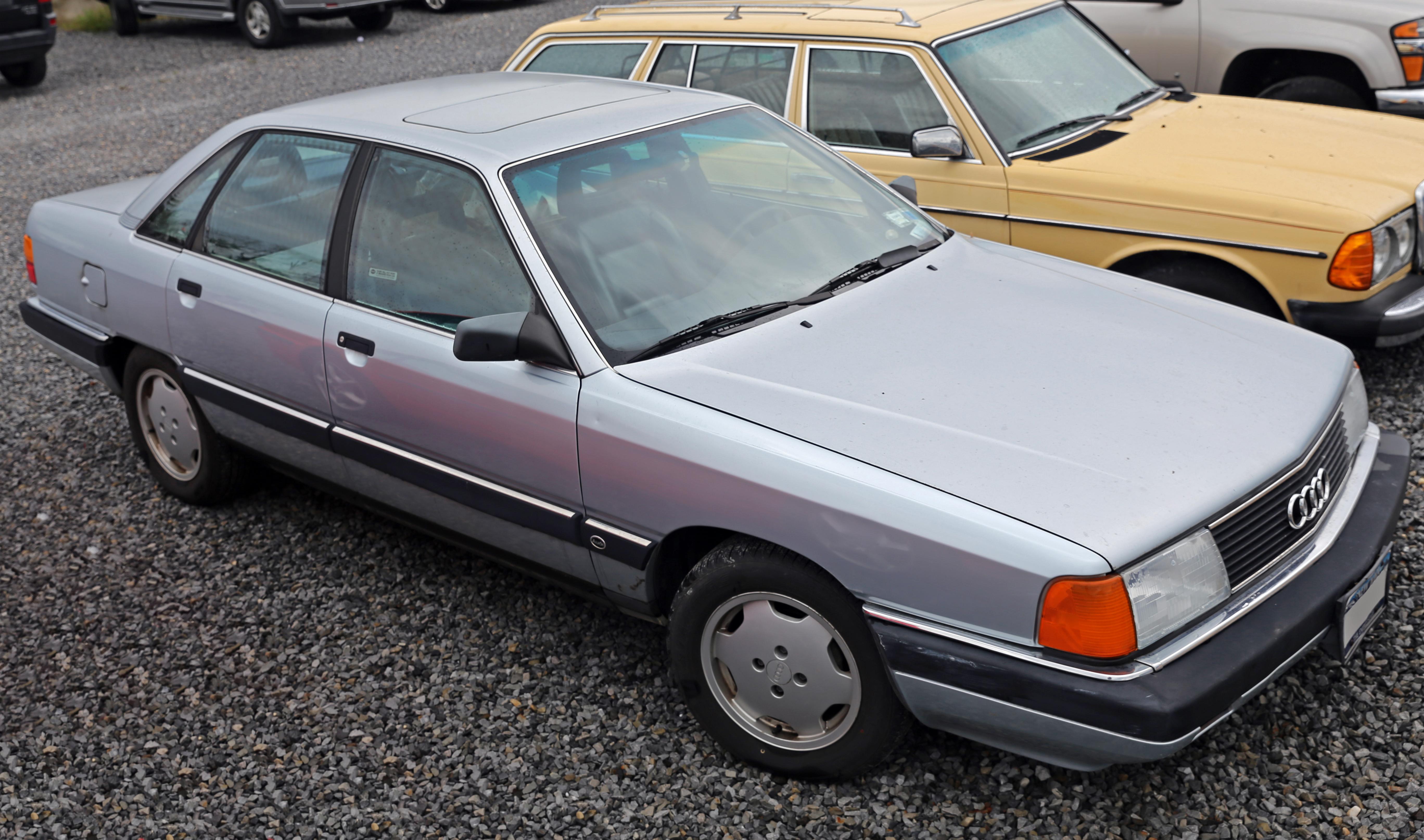 File 1990 Audi 100 Front Usa Jpg Wikimedia Commons