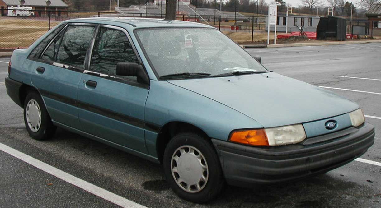 1991 ford escort parte
