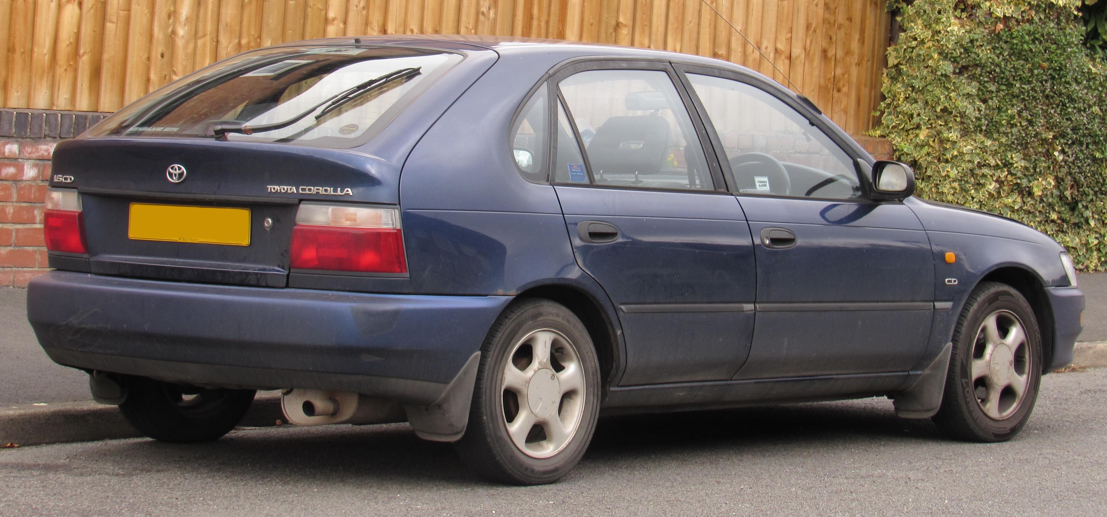 Kelebihan Kekurangan Toyota Corolla 1996 Review