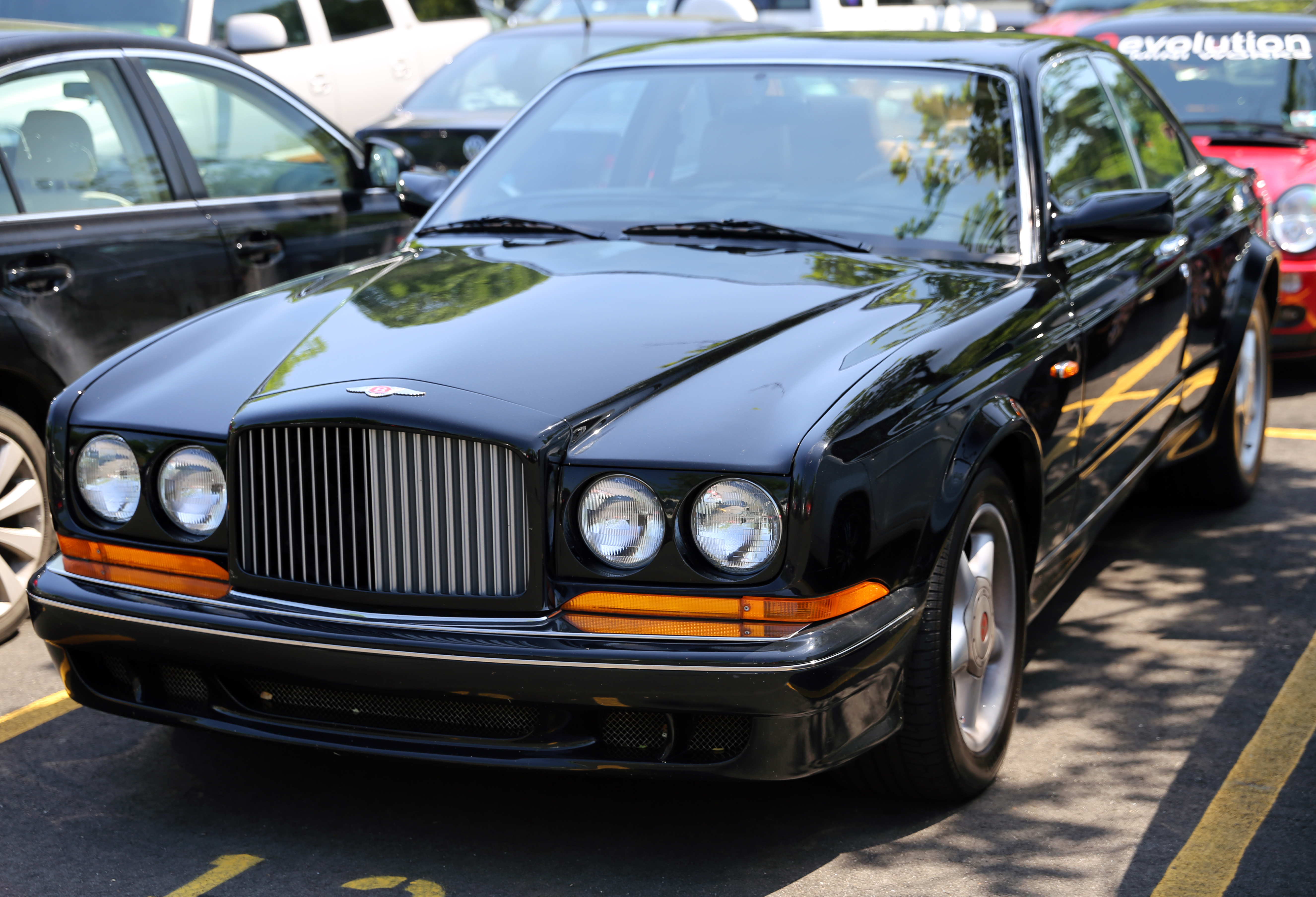 File 1997 bentley continental t front view jpg